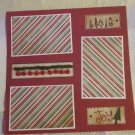 """Christmas Joy 2a""-Premade Scrapbook Page 12x12"