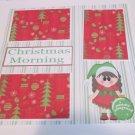 """Christmas Morning Girl""-Premade Scrapbook Page 12x12"