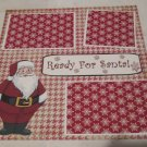 """Ready For Santa""-Premade Scrapbook Page 12x12"