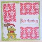 """Bah Humbug a""-Premade Scrapbook Page 12x12"