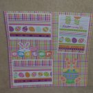 """Easter Bunny a""-Premade Scrapbook Page 12x12"