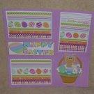 """Happy Easter Bunny Basket""-Premade Scrapbook Page 12x12"