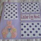 """Easter Egg Hunt 2b""-Premade Scrapbook Page 12x12"