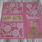 """Happy Easter Girl csa""-Premade Scrapbook Page 12x12"