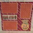 """Awesome Autumn""-Premade Scrapbook Page 12x12"