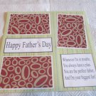 """Happy Father's Day""-Premade Scrapbook Page 12x12"