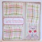 """""""I Love Grandma""""-Premade Scrapbook Page 12x12"""