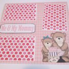 """""""Me and My Mommy Girl""""-Premade Scrapbook Page 12x12"""