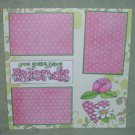 """You Gotta Have Friends a""-Premade Scrapbook Page 12x12"