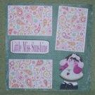 """Little Miss Sunshine""-Premade Scrapbook Page 12x12"