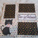 """""""Perfect Halloween Cat""""-Premade Scrapbook Page 12x12"""