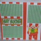 """""""Happy Haunting Candy Corn a""""-Premade Scrapbook Page 12x12"""