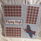 """""""Flying High a""""-Premade Scrapbook Page 12x12"""