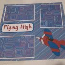 """Flying High""-Premade Scrapbook Page 12x12"