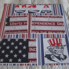 """USA Uncle Sam""-Premade Scrapbook Page 12x12"