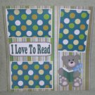 """""""I Love To Read""""-Premade Scrapbook Page 12x12"""