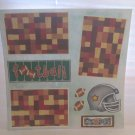 """Football""-Premade Scrapbook Page 12x12"