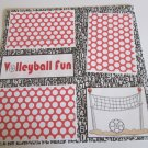 """Volleyball Fun a""-Premade Scrapbook Page 12x12"