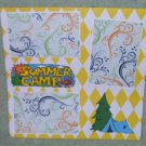 """Summer Camp""-Premade Scrapbook Page 12x12"