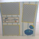 """""""Swimming Lessons""""-Premade Scrapbook Page 12x12"""