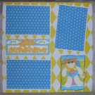 """""""You Are My Sunshine""""-Premade Scrapbook Page 12x12"""