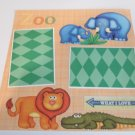 """Zoo a12""-Premade Scrapbook Page 12x12"