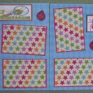 """Bug Collecter dbl""-Premade Scrapbook Pages 12x12-Double Page Layout"