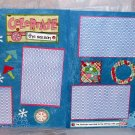 """Celebrate The Seasons dbl""-Premade Scrapbook Pages 12x12-Double Page Layout"