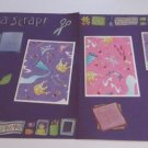 """""""Gotta Scrap dbl""""-Premade Scrapbook Pages 12x12-Double Page Layout"""