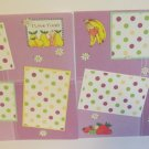 """I Love Treats dbl""-Premade Scrapbook Pages 12x12-Double Page Layout"