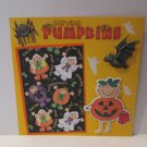 """Carving Pumpkins""-Premade Scrapbook Page -8x8 Layout"
