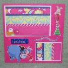 """Eeyore Happy Birthday""-Premade Scrapbook Page -8x8 Layout"