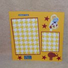 """""""Fun At The Circus""""-Premade Scrapbook Page -8x8 Layout"""