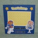 """""""Touchdown School Spirit""""-Premade Scrapbook Page -8x8 Layout"""