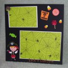 """Trick or Treat Pirate""-Premade Scrapbook Page -8x8 Layout"