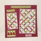 """""""Christmas Eve""""-Premade Scrapbook Page -8x8 Layout"""
