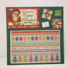 """Christmas Is A Time""-Premade Scrapbook Page -8x8 Layout"