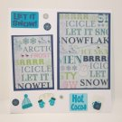 """""""Let It Snow Hot Cocoa""""-Premade Scrapbook Page -8x8 Layout"""