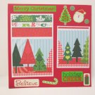 """""""Merry Christmas Believe""""-Premade Scrapbook Page -8x8 Layout"""
