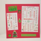 """""""Trim The Tree""""-Premade Scrapbook Page -8x8 Layout"""