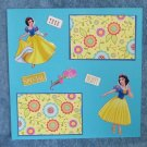 """Snow White Special Beauty""-Premade Scrapbook Page 12x12"