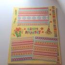 """Happy Birthday ab2""-Premade Scrapbook Page -8 1/2 x 11""  Layout"