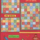 """""""Off TO School""""-Premade Scrapbook Page -8 1/2 x 11""""  Layout"""