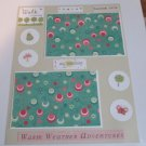 """Walk In The Park""-Premade Scrapbook Page -8 1/2 x 11""  Layout"