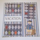 """Vacation Guy""-Premade Scrapbook Page 12x12"
