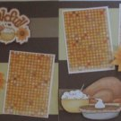 """""""Be Thankful dbl""""-Premade Scrapbook Pages 12x12-Double Page Layout"""