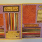 """""""Hocus Pocus dbl""""-Premade Scrapbook Pages 12x12-Double Page Layout"""