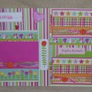 """""""Hopeless Romantic dbl""""-Premade Scrapbook Pages 12x12-Double Page Layout"""