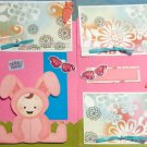 """I'm A Funny Little Bunny dbl""-Premade Scrapbook Pages 12x12-Double Page Layout"
