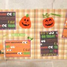"""Pumpkin Carving dbl""-Premade Scrapbook Pages 12x12-Double Page Layout"